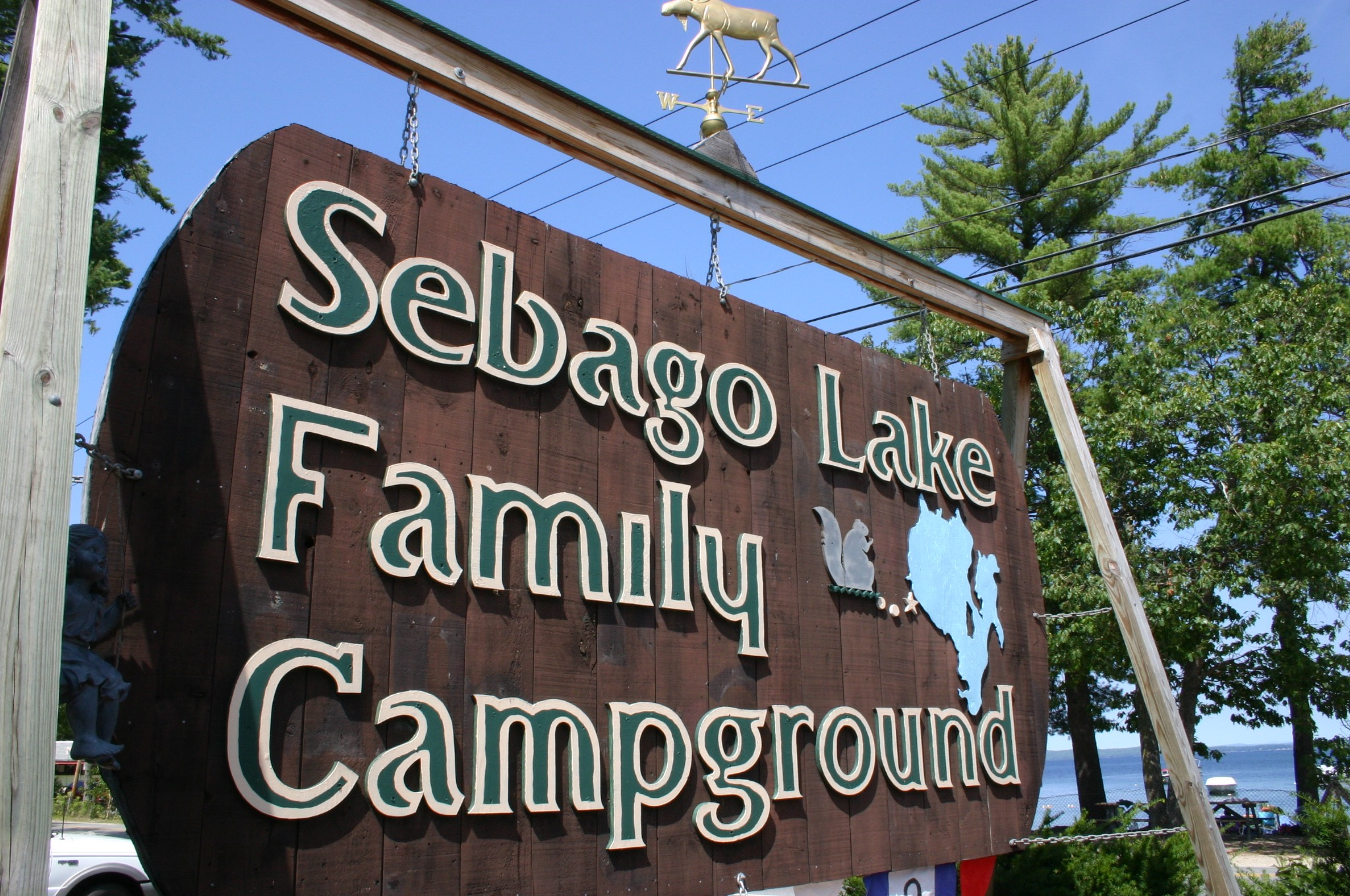 Sebago Lake Family Campground Logo