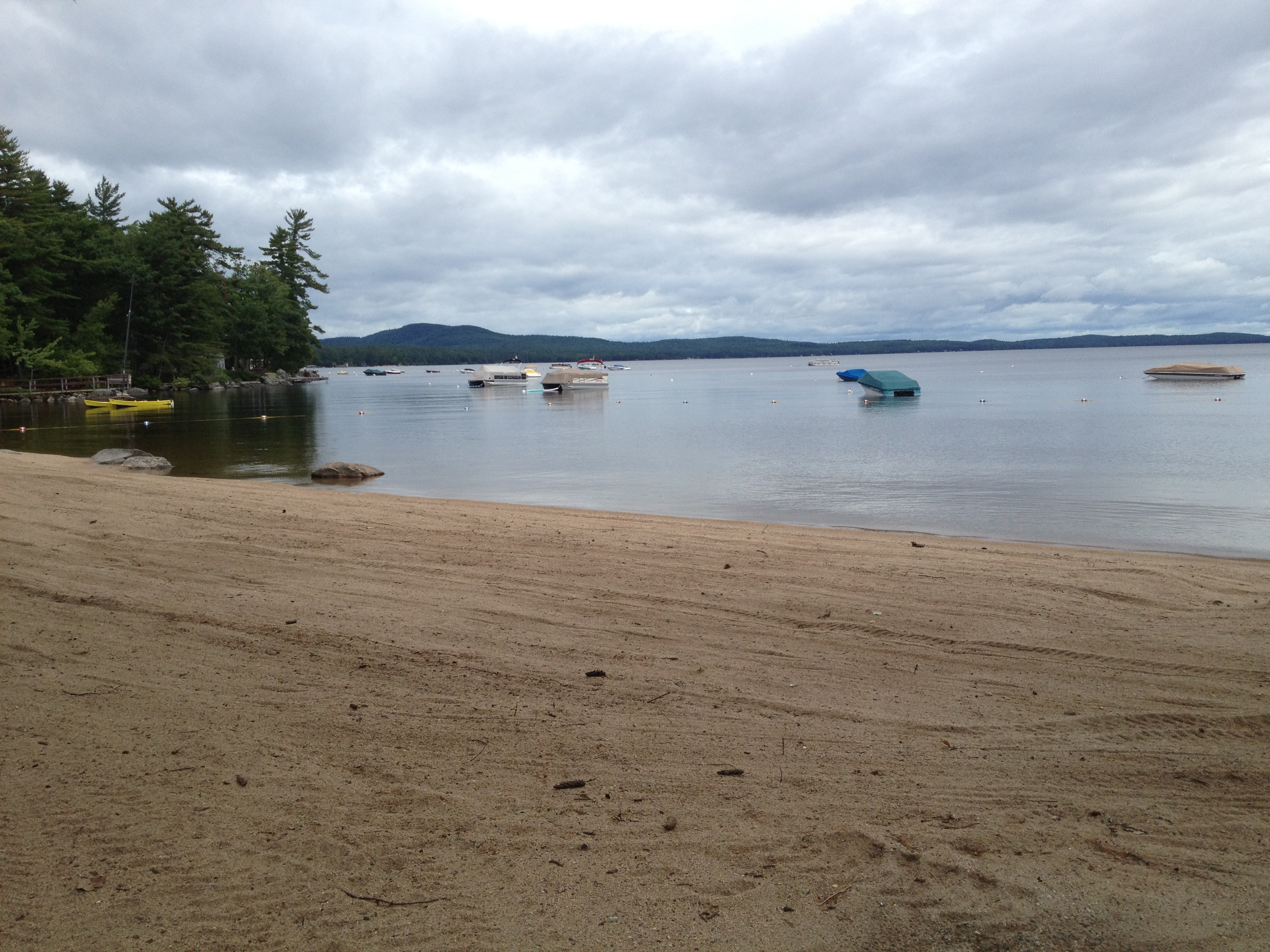 A Quiet Day on Sebago Lake